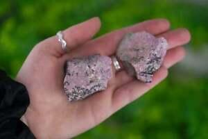 Large Raw Rhodonite Rough Crystal