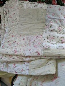 Rachel Ashwell Simply Shabby Chic Patchwork Quilt   Queen   Darling