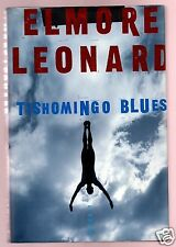 TISHOMINGO BLUES ELMORE LEONARD SIGNED SPECIAL EDITION-1ST-VERY GOOD COND
