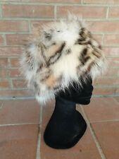 FOX FUR HAT CAPPELLO COLBACCO PELLICCIA di VOLPE FOURRURE chapeau PELZ renard