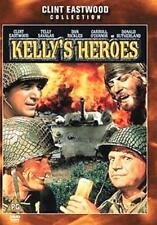 KELLY'S HEROES CLINT EASTWOOD TELLY SAVALAS WARNER UK COVER IS VGC DVD IS NEW