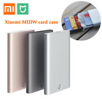 Xiaomi MIIIW Credit Card Box Holder Mini ID Card Aluminium Bank Pocket Portable
