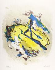 Rolf Fässer - Abstrakte Komposition. Original-Lithographie, sign.