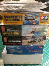 New ListingLot of 6 1/48 Us aircraft: Hobbycraft, Tamiya, Accurate Miniatures Please Read!