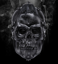Men Fashion Cool Gothic Shoulder Bag 3D Skull Rivet Street HipHop Style Backpack