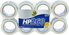 Duck Hp260 Packing Tape Refill Heavy Duty 188 Inch X 60 Yard Clear 8 Rolls