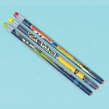 12 x Disney Cars 3 Pencils Birthday Party Favours Party Loot Bag Cars Party