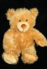 "TG Industries TEDDY BEAR 12"" Brown Plush Stuffed Animal Soft Toy Sewn Eyes Small"