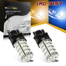 3157 Switchback Amber Front Turn Signal Light Blue 60 Dual LED Bulb
