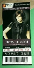 TWILIGHT NEW MOON ALICE CULLEN ASHLEY GRN MANN THEATRES OFFICIAL SOUVENIR TICKET