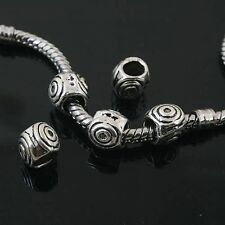 10pcs Tibetan Silver nice spacer Beads Fit European Bracelet l0106