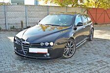 Carbon Cup Spoilerlippe Alfa Romeo 159 Sportwagon Diffusor schwert Splitter ABS
