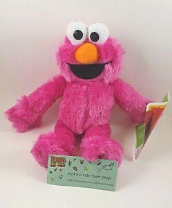 "Sesame Street Workshop 10"" Red ELMO Plush Stuffed Animal Doll Toy TV Show"