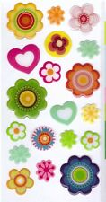3D Epoxy Gel Stickers Flowers Hearts for Scrapbooking sticker Album school