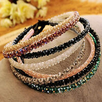 Women Crystal Hairband Hair Band Rhinestone Headwear Wedding Jewelry Headband