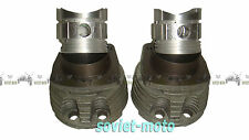 Piston group Ural cylinders pistons New Kolbengruppe Zylinder Kolben Neu