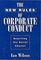Nuevo Rules Of Corporativo Conduct: Rewriting The Social Charter por Wilson, Ian