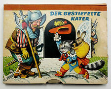 Der gestiefelte Kater, Pop-up Buch, V. Kubasta, Artia/Carlsen 1968, Top-Zustand!
