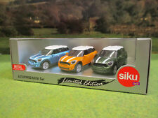 SIKU LIMITED EDITION BMW MINI COUNTRYMAN CAR GIFT SET 2 1/55 62139990 BRAND NEW