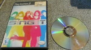 play station 2 disney sing it  used