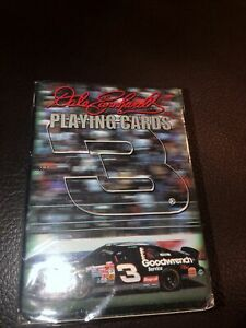 Dale Earnhardt#3 Officially Licensed Playing Cards NASCAR 2000 NISP