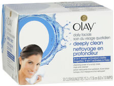 Olay 4-in-1 Daily Facial Cloths – Combination/Oily Skin – 33 Count