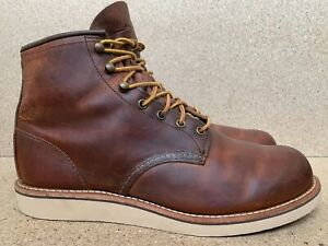 Excellent Red Wing 2950 Copper Rough and Tough Heritage Men's Work Boots Sz 11 D
