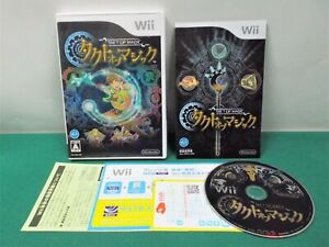 Nintendo Wii -- TAKT OF MAGIC -- Magic Strategy. JAPAN GAME. 53608