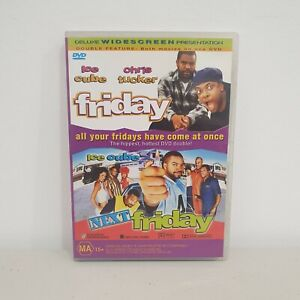 Friday + Next Friday DVD (2001) Region 4, Ice Cube, Mike Epps, Free Postage