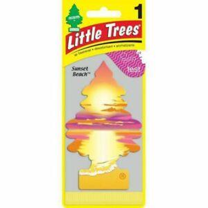New Little Trees Air Freshener - SUNSET - Car & Home & Office