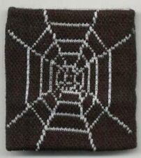 Unisex Black and White Spider Web Halloween Wristband Sweatband - Brand New