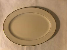 "Lenox China MANSFIELD 13"" Oval Small Serving Platter"