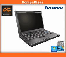 "Lenovo Thinkpad T400 14"" Laptop Core 2 Duo 2.4GHz, 2GB RAM, 160Gb, Win 7 Pro"