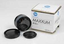 50MM F 1.7 MINOLTA / SONY MAXXUM AF LENS W/FRONT REAR CAPS   ORIGINAL BOX
