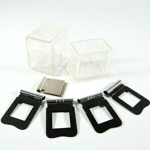 ✅ Set Of 4 Paillard Bolex Filter Holders For H16 Reflex Movie Cameras