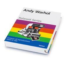 Kidrobot Andy Warhol Polaroid Series 1 NEW Set of 11 Pop Art photographs Repros