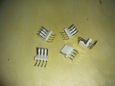 Lot Of 20 Molex Pc Header Right Angle 4 Pos 0026605040 Free Shipping