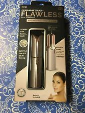 Finishing Touch Flawless Women's Painless Facial Hair Remover Blush/Rose Gold