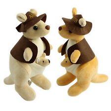 Kangaroo Plush Soft Stuffed Toy Australia Joey Swaggy Australian Animal Souvenir