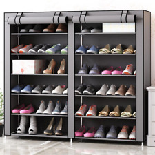 Nonwoven Fabric Dustproof Shoe Cabinet Space-saving Shoe Organizer Easy to Insta