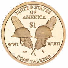 2016-P $25 Sacagawea Golden Dollar Coin Roll - Native American Uncirculated Mint