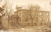 D93/ Benson Minnesota Mn Real Photo RPPC Postcard c1913 Hospital Building