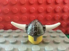 LEGO Minifig Helmet Viking with Horns x1 Army Horse Fortress Battle Warrior Ship