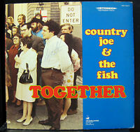 Country Joe And The Fish - Together LP Mint- VSD-79277 Stereo 1968 Vinyl USA