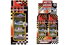 4 Pcs Metal Racer Kids Cars Gift Set Racing Vehicle Children Play Toy Xmas Gift