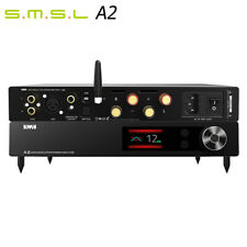 SMSL VMV A2 AMP PCM32Bit/768kHz XMOS DSD512 Aptx Pre-output CNC Power Amplifier