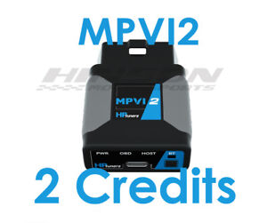 HP Tuners MPVI2 Tuner VCM Suite w/ 2 Universal Credits
