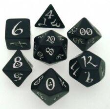 Dadi Q-Workshop Classic Black & White Dice Set