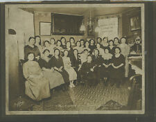 1923 MOCK WEDDING IN HONOR OF SOV. E. BILLY - ANTIQUE PHOTO BY GOFFUS