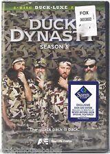 Duck Dynasty Season 3 (Three) Duck-Luxe Edition 2-Disc DVD Box Set - A&E - New